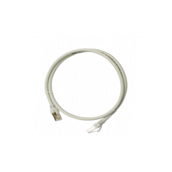 SBETECH SBE-PCC63.OM-GY - Patch Cord Cat 6 con bota inyectada y moldeada 3m Gris