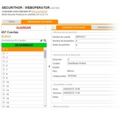 WEBOP-CH1 MCDI SECURITY PRODUCTS, INC